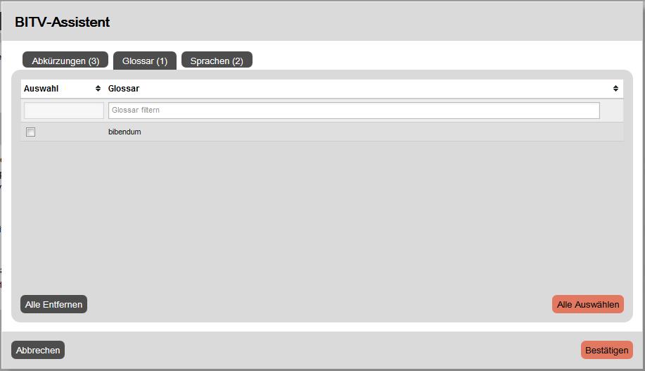 GSB Screenshot WebEditor BITV